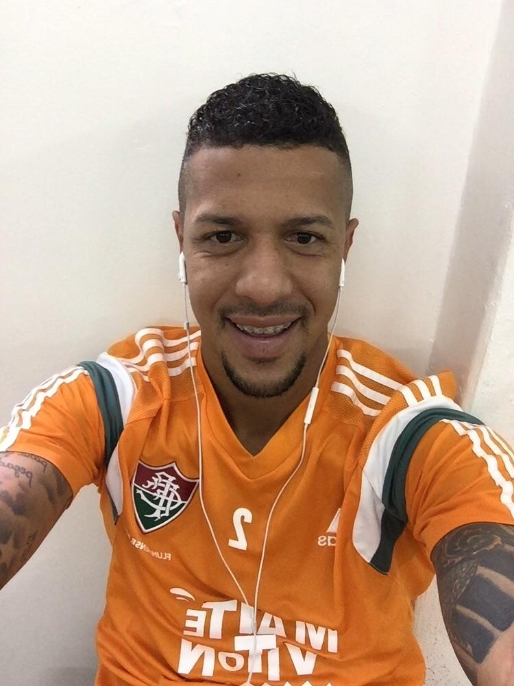 """Antônio Carlos em 'selfie' para o Blog do Boleiro: """"Estou feliz"""""""
