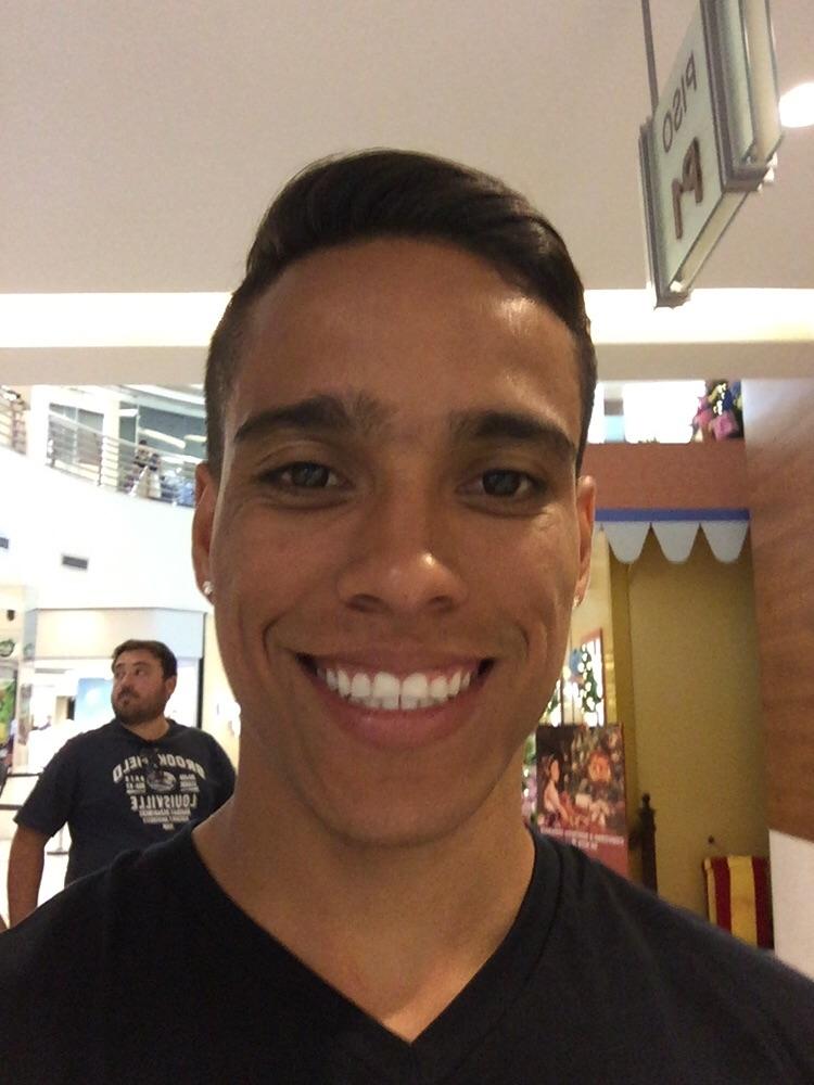 O novo sorriso de Wendell Lira Foto: arquivo pessoal