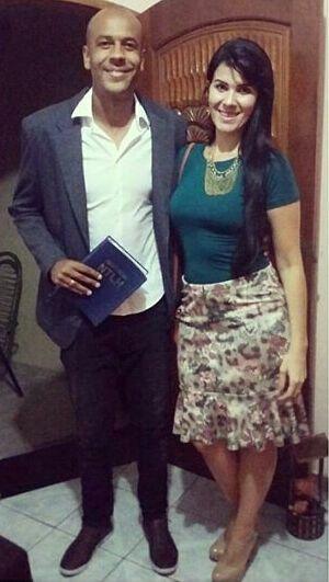 Alex vai se casar com Suellen Silva Foto: arquivo pessoal