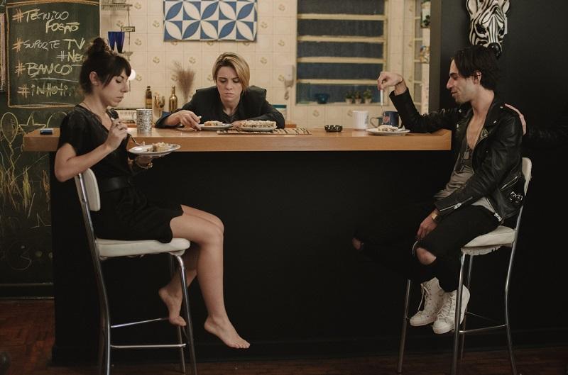Maria Laura Nogueira, Renata Gaspar e Thiago Pethit