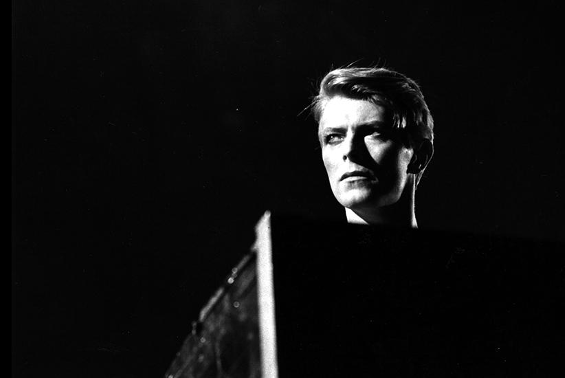 David Bowie, em 1977