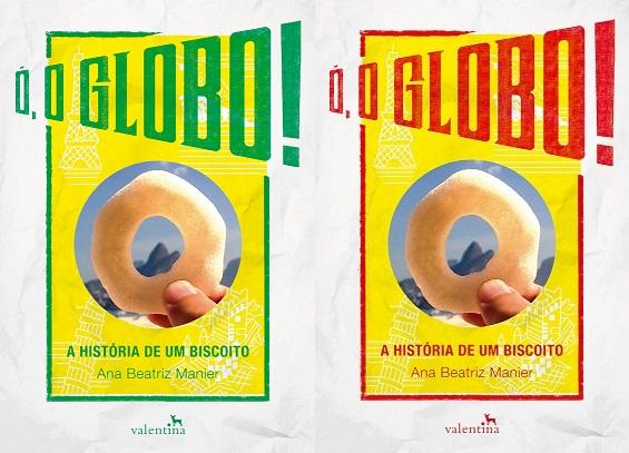 O livro recebeu duas capas diferentes, uma para cada versão do biscoito.