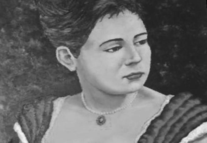 """Retrato de Maria Firmina dos Reis, autora de """"Úrsula""""."""