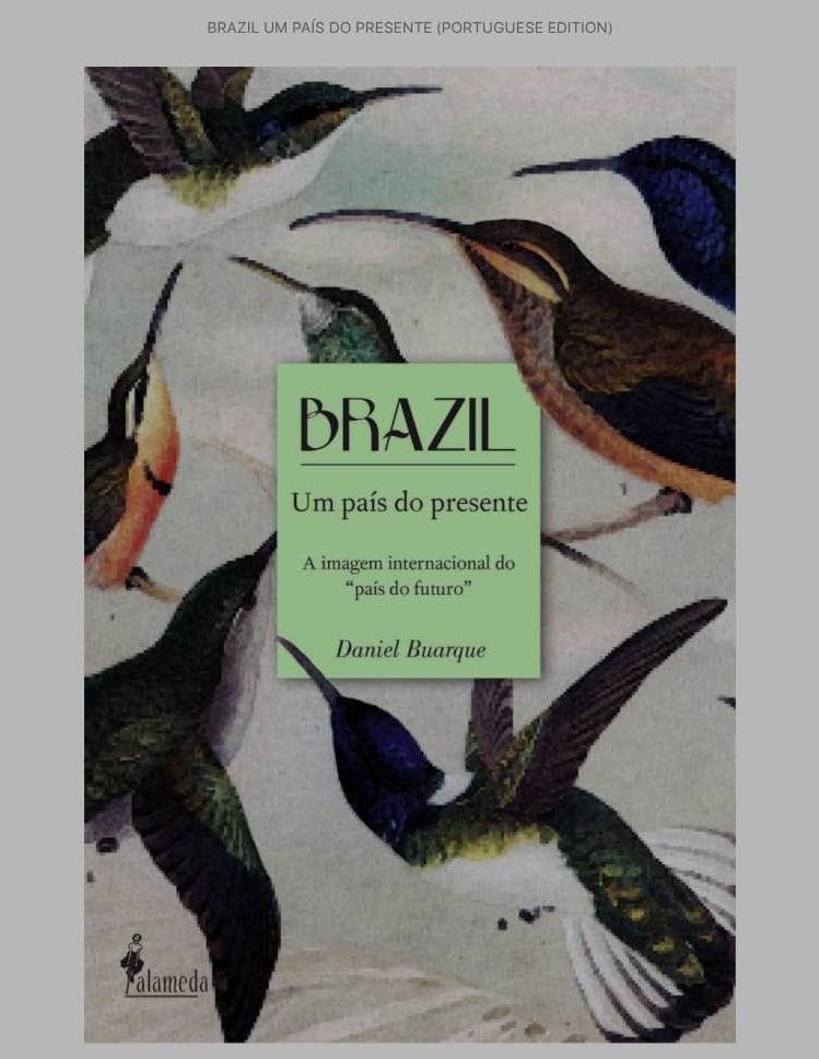 Capa do livro 'Brazil, um país do presente', em sua edição digital
