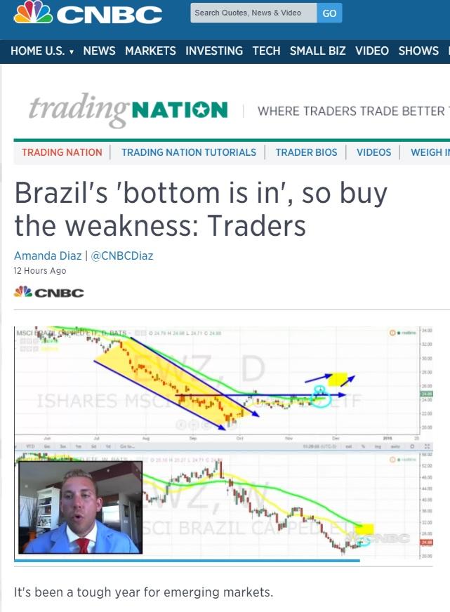 No fundo do poço, Brasil é um bom investimento, diz CNBC