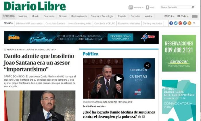 Deu no 'Globo': Prisão de publicitário afeta eleições na República Dominicana