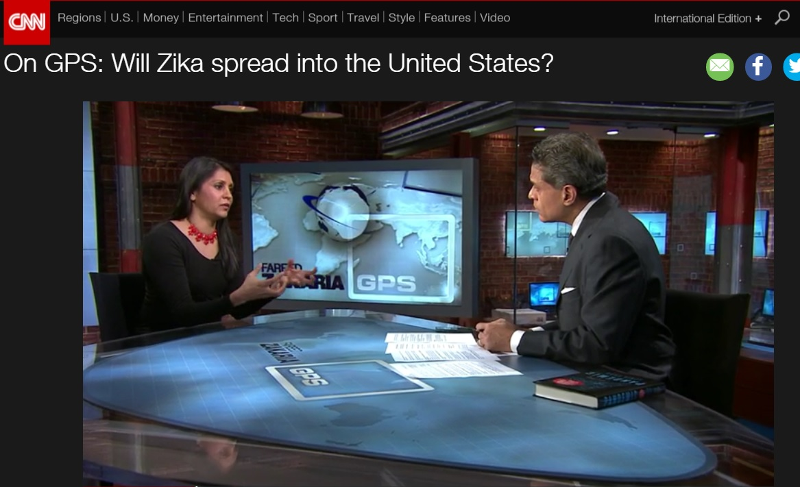 Surto de zika monopoliza noticiário internacional sobre o Brasil