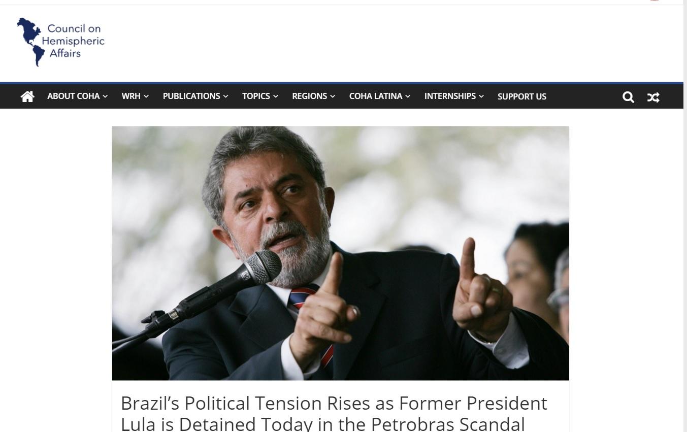 Analistas estrangeiros veem clima de tensão e riscos à democracia no Brasil