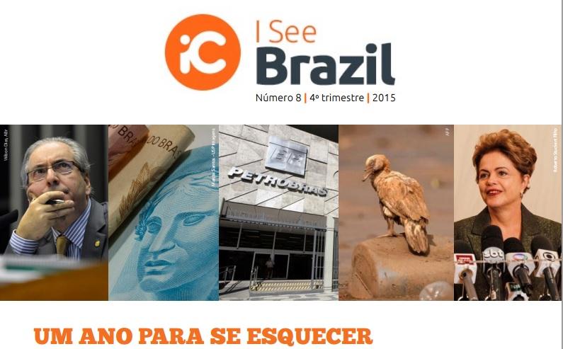 Pesquisa mostra que imagem do Brasil no exterior despencou em 2015