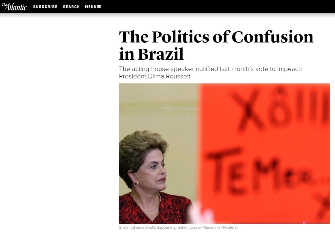 'Confusão' é o tema da cobertura internacional da anulação do impeachment