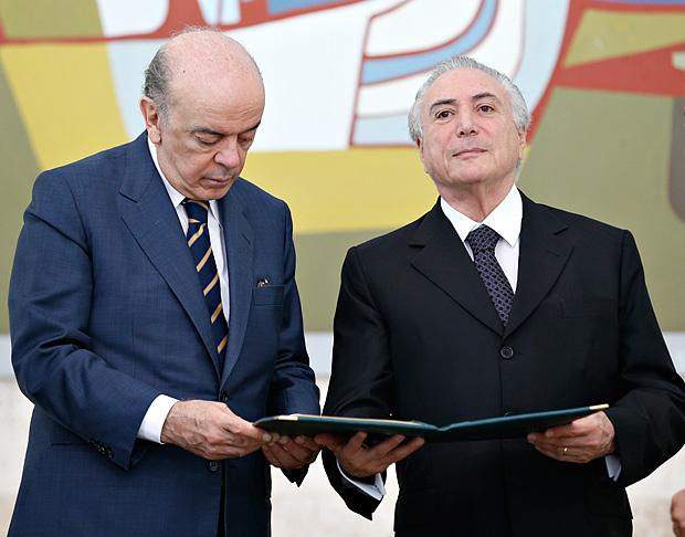 """Deu na """"Folha"""": Governo Temer cobra que diplomatas combatam imagem de golpe no Brasil"""