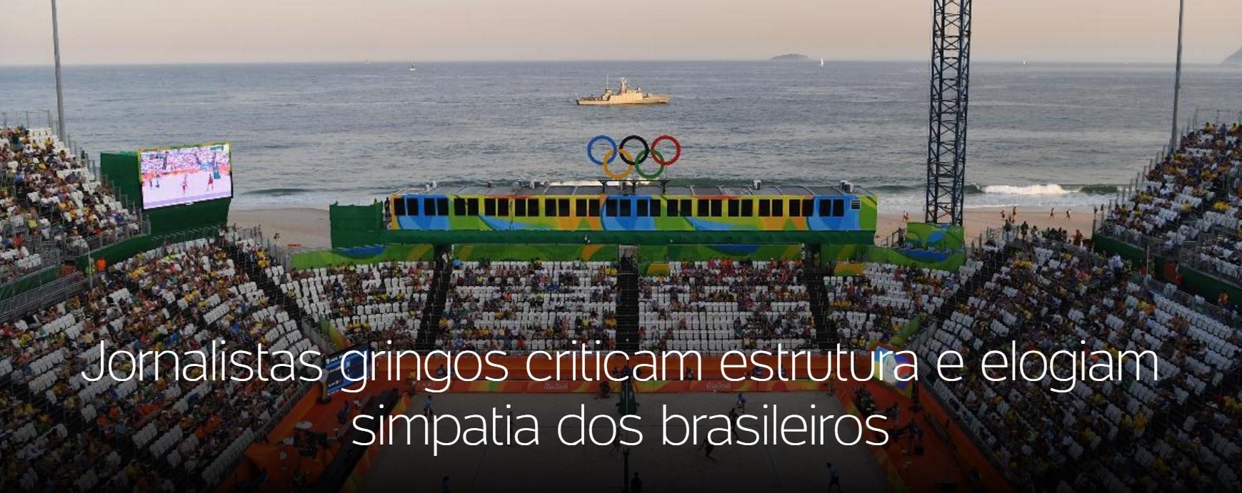 Jornalistas estrangeiros reclamam de problemas de organização na Olimpíada