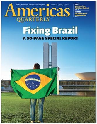 Revista americana publica especial de 50 páginas sobre como consertar o Brasil