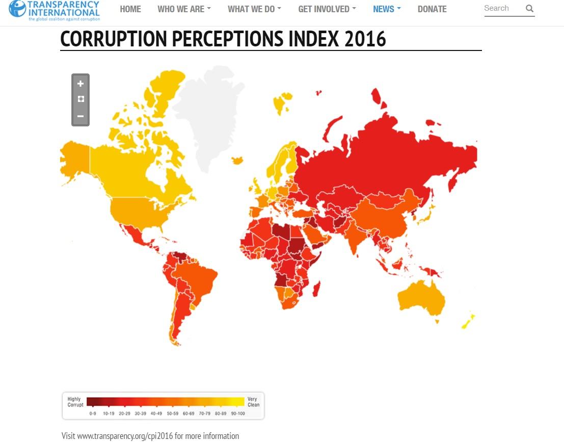 Escândalos fazem Brasil perder 3 posições em ranking global de corrupção