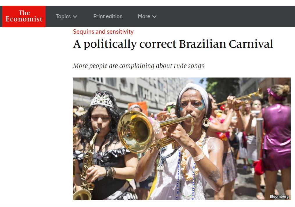 Mídia estrangeira vê pressão política de esquerda e direita sobre carnaval