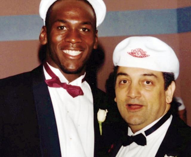 Michael Jordan e Sonny Vaccaro