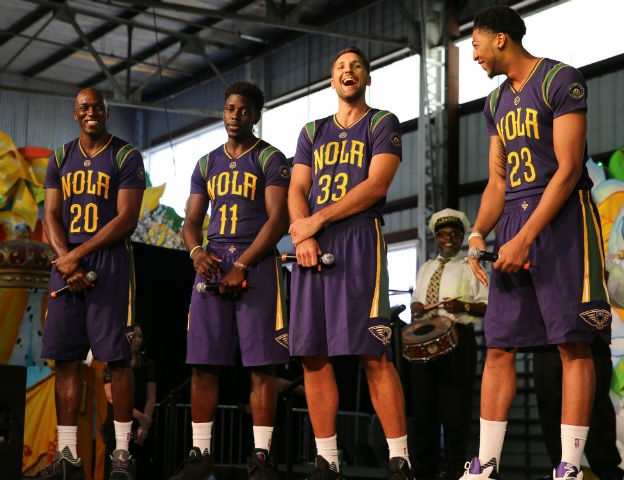 pelicans uniform