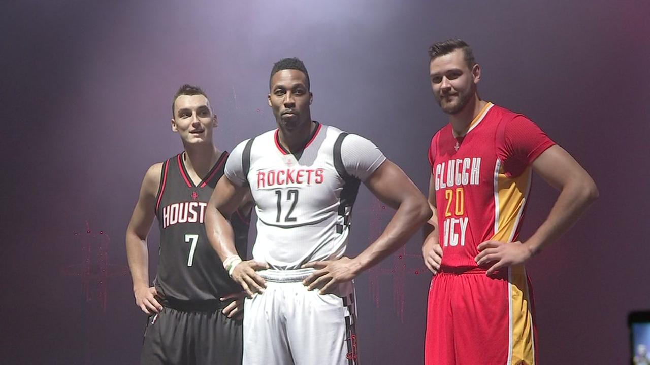 rockets uniform