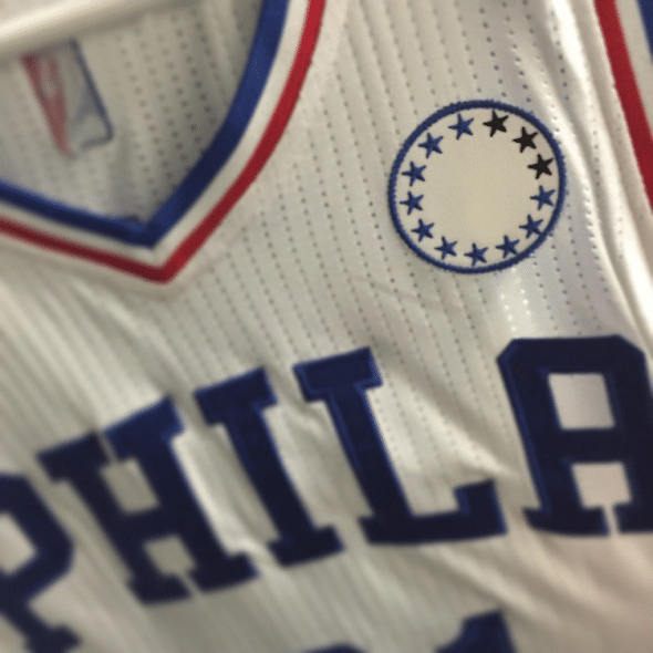 sixers patch