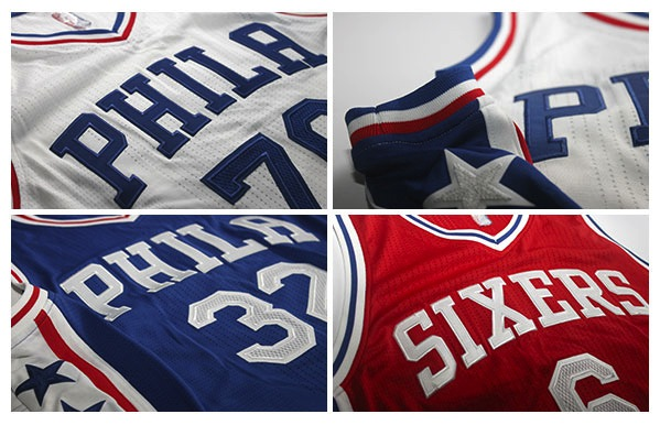 sixers uniform