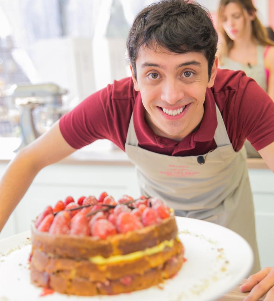 Participantes com os bolos de sua vida_Foto Artur Igrecias