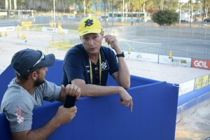 Fulvio Danilas foi diretor do escritório da Fifa no Brasil: hoje está na CBV