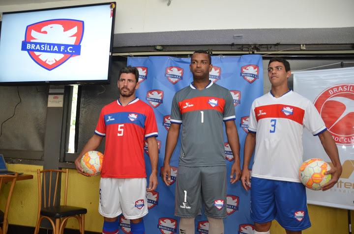 O Brasília apresentou os uniformes e a logo em agosto