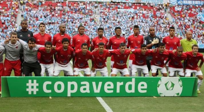 Time que ganhou a Copa Verde-2014 jogava de vermelho e shorts branco