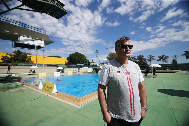 """Canadense Mitch Geller em Brasília: """"Já estivemos na Índia e tantos outros lugares. A mídia faz muito barulho"""" (Divulgação/Ministério do Esporte)"""