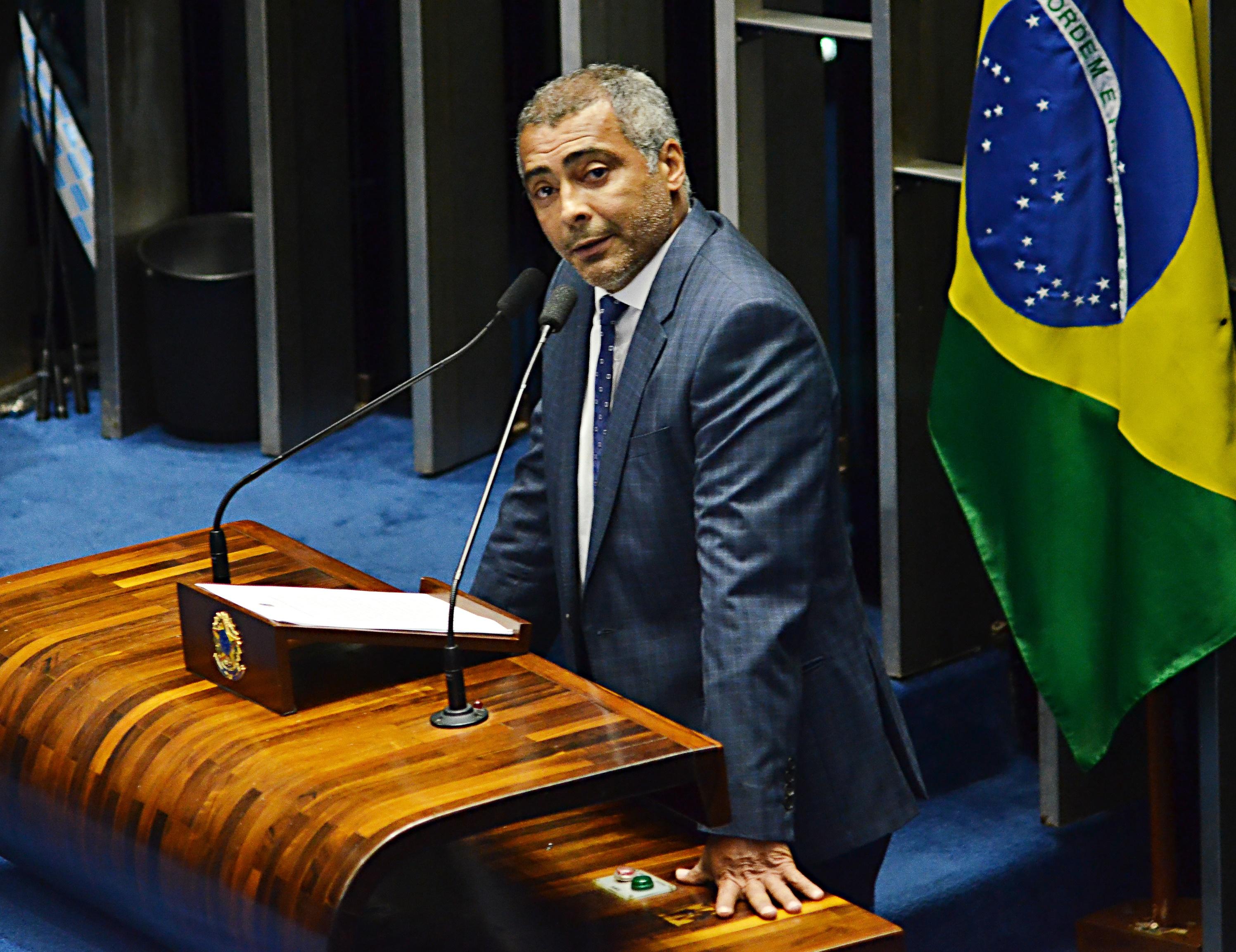 Romário perdeu cerca de 10 kg. Imagem: Renato Costa/folhaPress