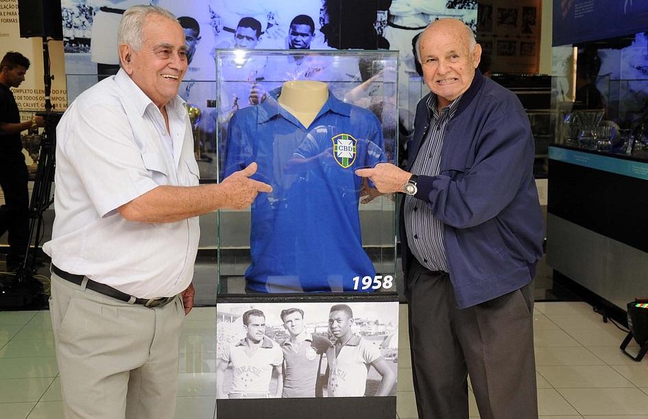 Zito receberá homenagem que só coube a Pelé (Ivan Storti / Divulgação SantosFC