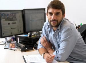Daniel Quiroga, executivo do canal UFC Combate