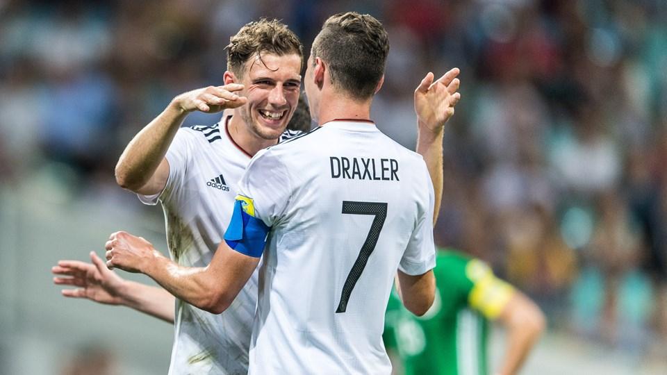 Resultado de imagem para Alemanha terá força total contra o Brasil com Müller, Kroos e Sané