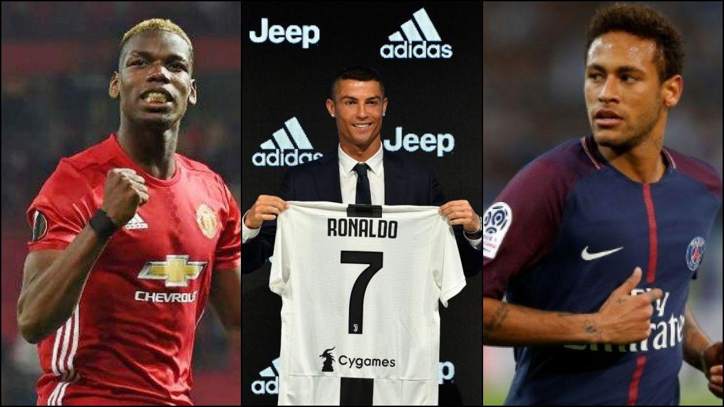 357c13f3e8 Conheça os reforços mais caros da história dos grandes clubes da Europa