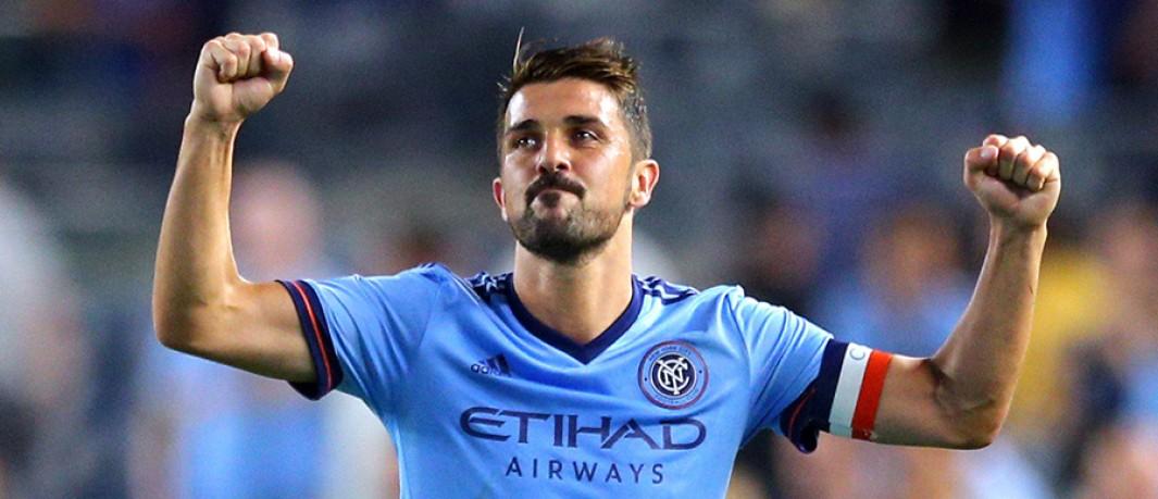 """Villa é um dos astros que encontraram no """"soccer"""" dos Estados Unidos o  espaço perfeito para prorrogar por mais alguns anos seu protagonismo dentro  de campo. a8fa99c81aa28"""