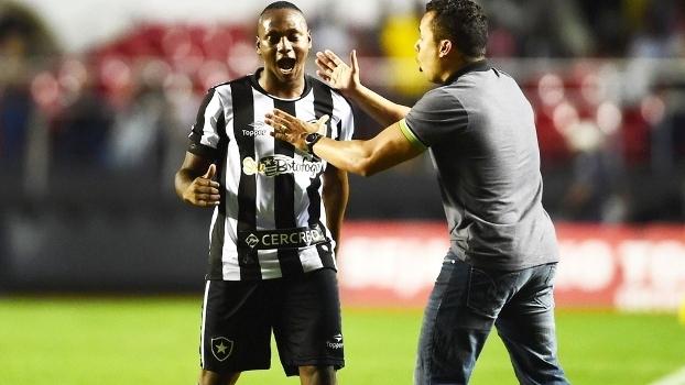 Sassa e Jair Ventura Botafogo