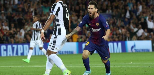 A Juventus parecia mais ajustada no primeiro tempo no Camp Nou 70c4e08e2587c