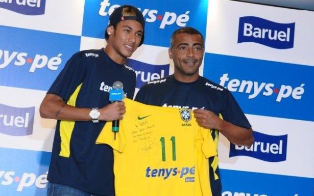 7c4cd224c7749 O abismo de centímetros entre Romário e Neymar - Blog do André Rocha ...