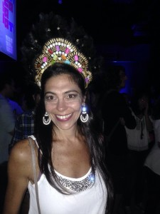 Mariana Sbarro: vendas em ensaios e festas de blocos. Foto: Divulgação