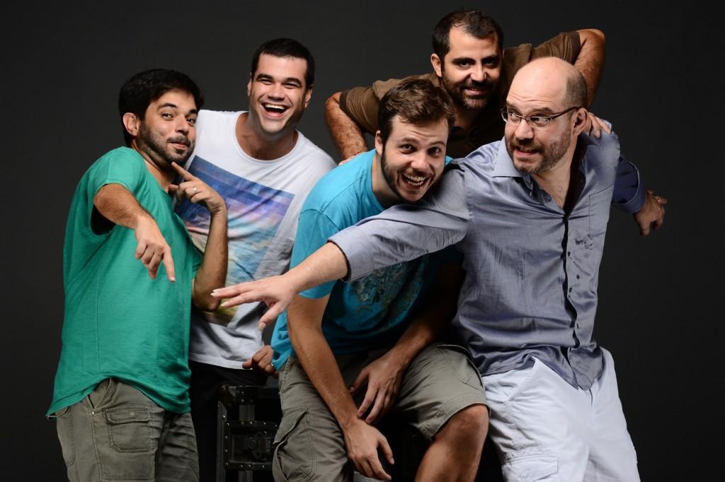 O quinteto do Casuariana faz seu tradicional réveillon no Clube dos Macacos