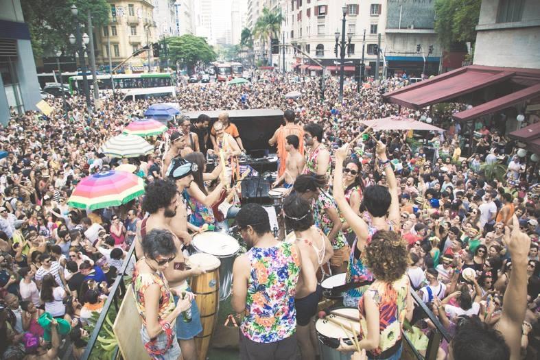 Tarado Ni Você desfila dia 6 de fevereiro, sábado de Carnaval, no Centro em SP. Foto: Giselle Galvão
