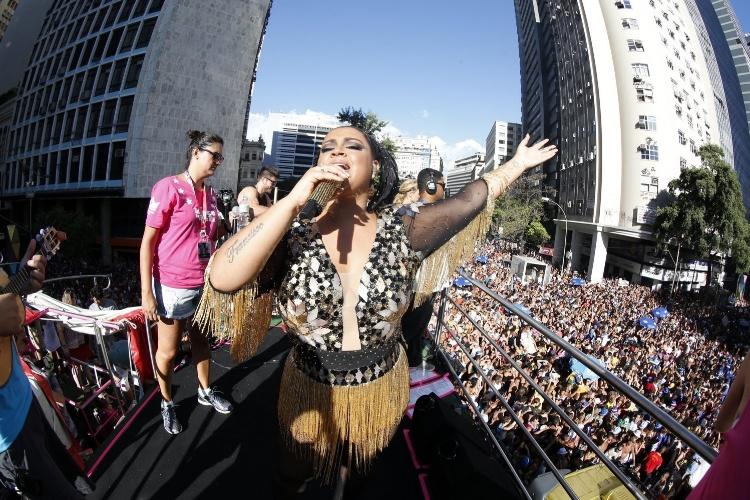 Em novo endereço: Bloco da Preta desfila na Rua 1° de Março. Foto: Felipe Panfili/Agnws