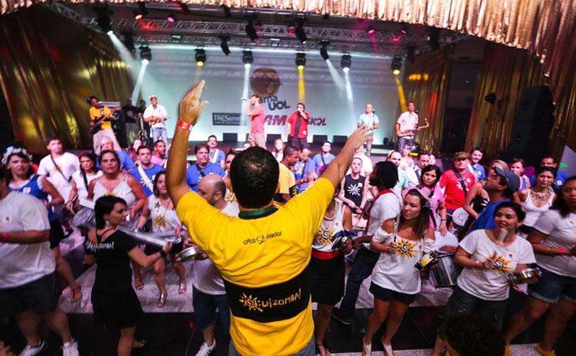 O Quizomba faz seu pré-carnaval no sábado (16), no Estúdio, em Pinheiros.