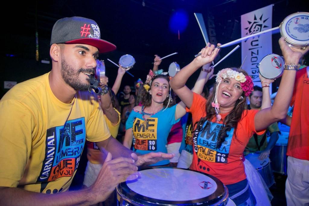 O Bloco Me Lembra, que estreia no Carnaval em 2016, faz ensaio na Vila Madalena. Foto: divulgação