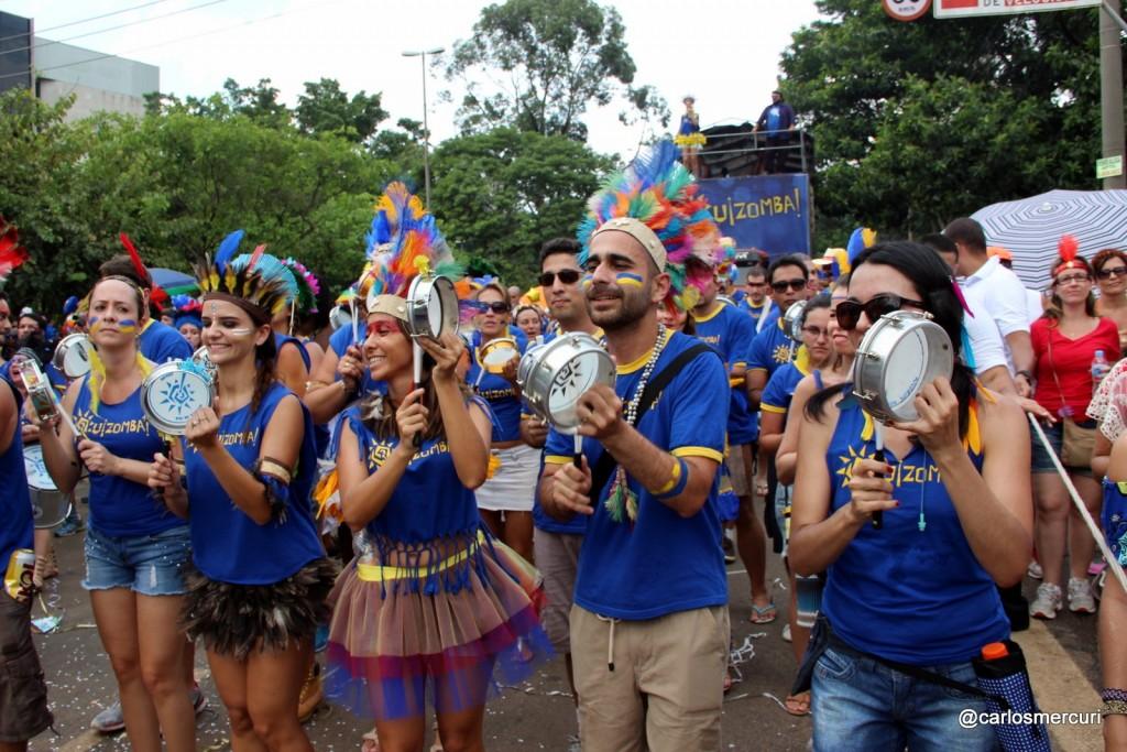 Quizomba desfilará no domingo (31), às 10h, na Avenida Tiradentes.