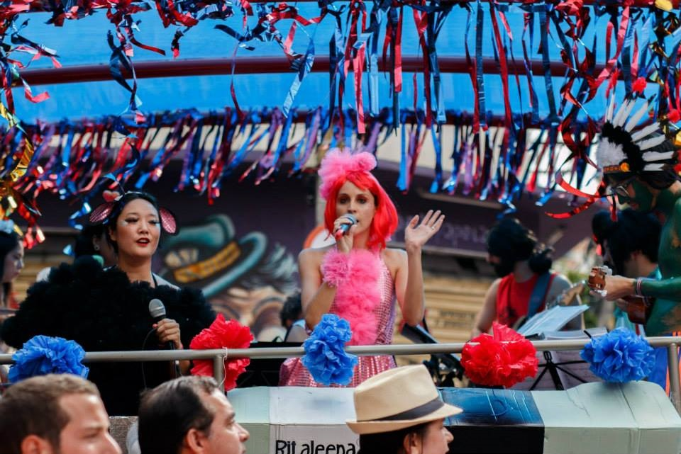 O Bloco Ritaleena fará seu segundo desfile em 2016. Foto: reprodução