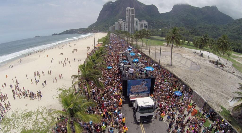 Bloco Vira-Lata: 10 anos de axé no Carnaval carioca. Foto Divulgação