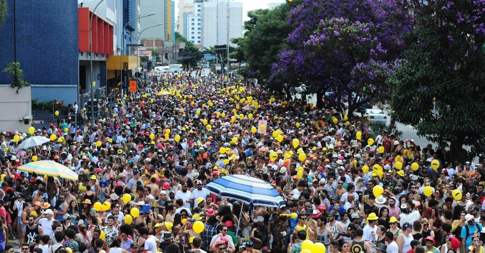 Baixo Augusta: bloco levou 150 mil foliões às ruas.