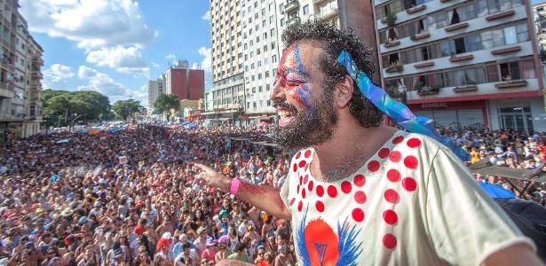Tô de Bowie: ideia inicial era reunir 200 pessoas.Foto: Rogério Casemiro/UOL