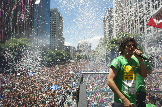 Monobloco espera um público de 400 mil pessoas no Centro. Foto: Divulgação